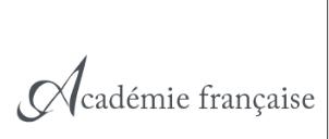 [Dictionnaire] Dictionnaire de l'Académie française