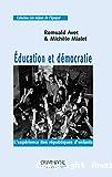 Éducation et démocratie